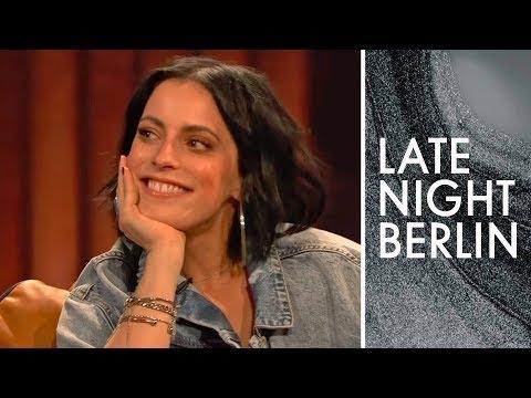 Silbermond Sängerin Stefanie Kloß zu Gast   Late Night Berlin   ProSieben