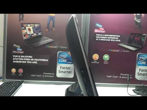 hp omni 220 all in one 21.5 led full video review in HD