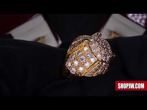 10k & 14k Gold Genuine Diamond Estate Rings || Shopjw