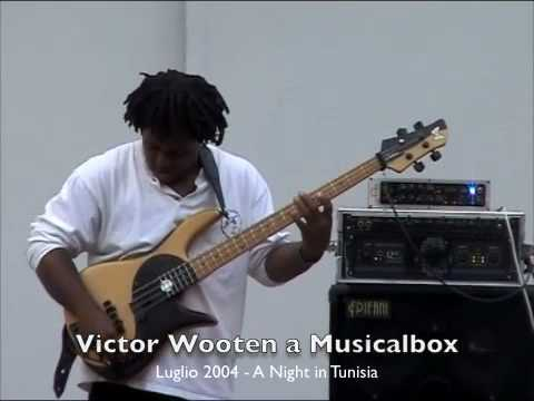 Victor Wooten a Musicalbox - A Night in Tunisia