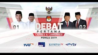 Video [FULL] Debat Pertama Capres & Cawapres Pemilu 2019 MP3, 3GP, MP4, WEBM, AVI, FLV Januari 2019