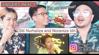 Video Siti Nurhaliza & Noraniza Idris - Hati Kama-Separuh Akhir Irama Malaysia 1999 [SINGERS REACT] MP3, 3GP, MP4, WEBM, AVI, FLV Maret 2019