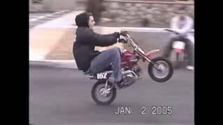 9. 2005 January - Honda CRF50 Ride Day - Hillclimb -  HydroSlide - Stunts - Waterslide -