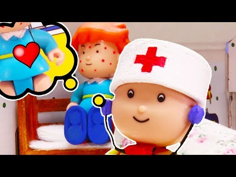 Pocoyo português Brasil - Caillou em Português  Doutor Caillou  Episódios Completos  Desenho Animado  NOVO