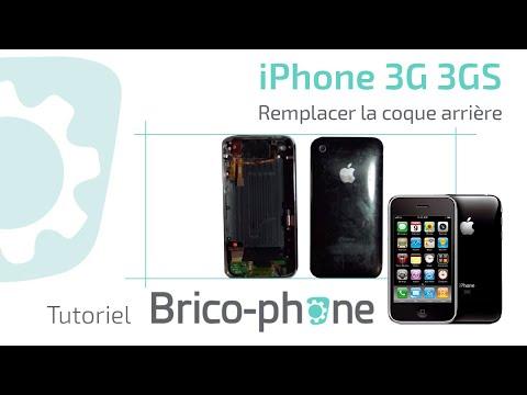 comment ouvrir la coque de l'iphone 3gs