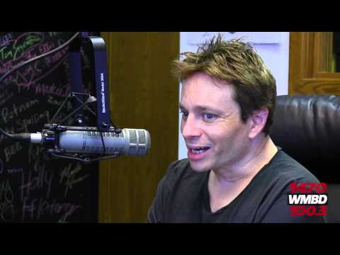 SNL Alumnus Chris Kattan visits with Greg and Dan