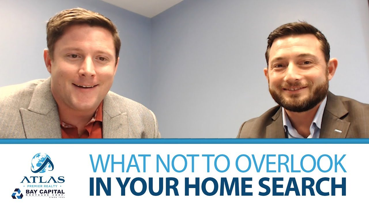 8 Things Not to Overlook in Your Home Search