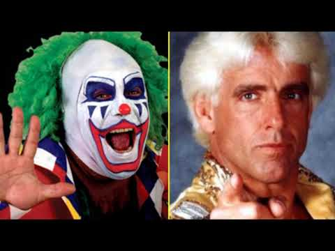 WRESTLING SHOOT| Ric Flair is a Backstabbing Motherf     !    Doink The Clown