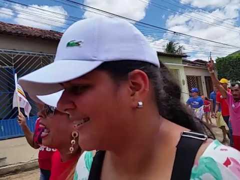 Doutor Oliveiro Torres caminhada em Igaci 16 de setembro de 2012 parte 2