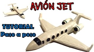 Video Como hacer una avión JET de plastilina / how to make an JET airplane with clay MP3, 3GP, MP4, WEBM, AVI, FLV Juni 2018