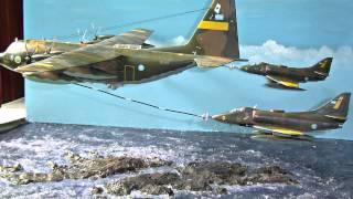 Video Diorama Hércules y Skyhawk reabasteciendo sobre Malvinas MP3, 3GP, MP4, WEBM, AVI, FLV Agustus 2018