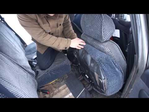 Как сложить задние сиденья