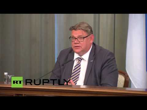 LIVE: Lavrov holds joint press conference with Finnish FM Soini tekijä: Ruptly TV