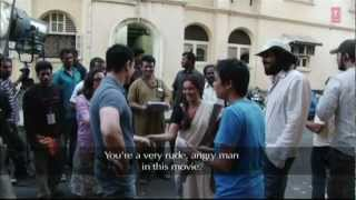 Aamir having fun while shooting Talaash