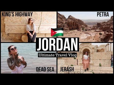 8 DAYS IN JORDAN | Perfect Jordan Travel Guide 2018 | Petra, Dead Sea, Jerash, King's Highway...