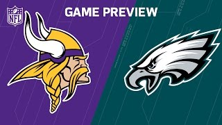 Vikings vs. Eagles (Week 7 Preview) | Move the Sticks | NFL by NFL