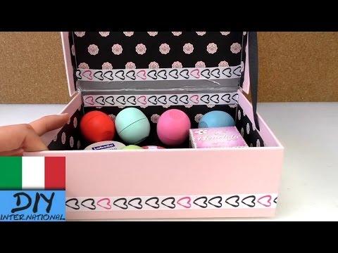 Fantastica scatola per la conservazione Decorazione Camera DIY Bellezza, Cosmetici EOS o una scatola