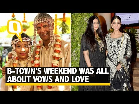 Bollywood Celebrities Had A Weekend Full Of Love And Vows