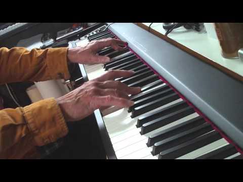 Piano improv #03 - Roland A-88 & Synthogy Ivory ll (видео)