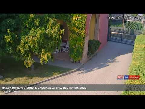 RAZZIA IN PIENO GIORNO: E' CACCIA ALLA BMW BLU | 17/09/2020