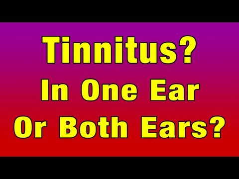 Tinnitus In Both Ears Or Only One Ear? Talk With Ellen Currie