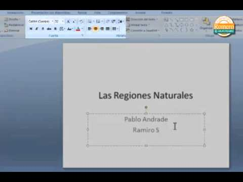Curso Power Point: Como Escribir Textos