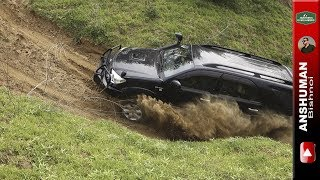 Video Toyota Fortuner & Mahindra Thar CRDe- Trying some difficult offroad climbs MP3, 3GP, MP4, WEBM, AVI, FLV Oktober 2018