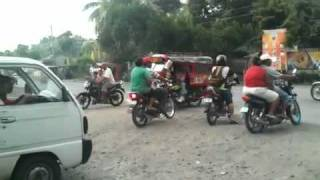 Digos Philippines  City new picture : Traffic In Digos City, Philippines