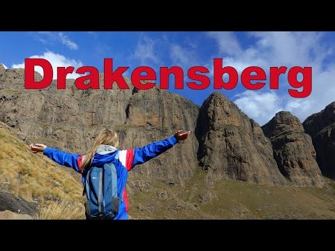 VIDEO: Hiking the Amphitheatre in Drakensberg