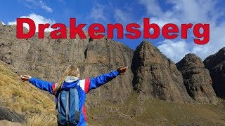 Drakensberg South Africa  City new picture : Hiking the Amphitheatre in Drakensberg, South Africa