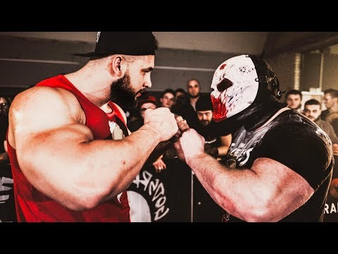 THE FINAL FIGHT: The Faceless VS Anabolic Horse - Strength Wars Final 2k17