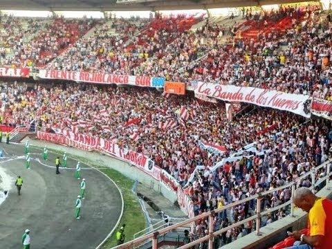 FRBS-LBK LLEGA LA BANDA DEL TIBURON JUNIOR 1 vs uac 1 - Frente Rojiblanco Sur - Junior de Barranquilla