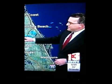 Weather man Blooper