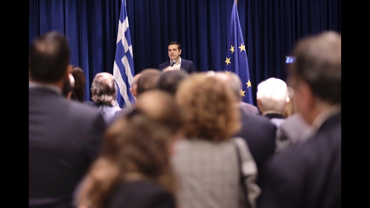 Ομιλία στους Έλληνες της ομογένειας
