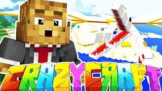 DEFEATING THE KING DRAGON - MINECRAFT'S OLDEST MOD PACK CRAZY CRAFT SURVIVAL #18