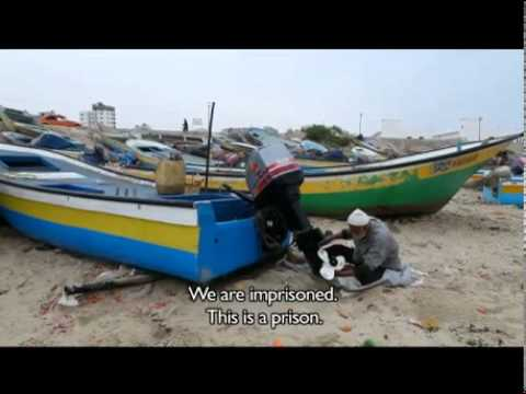 Gaza fishermen: 'We are no longer fishermen, we've become traders' – video