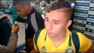 Na zona mista do Allianz Parque, Edu Dracena, João Pedro e Gabriel Jesus falam sobre a atuação do time após uma goleada em casa. O Palmeiras é líder ...