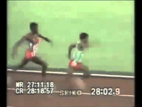 跑輸別人的選手居然惱羞成怒打了第一名?!