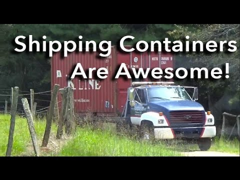 Shipping Containers are Awesome