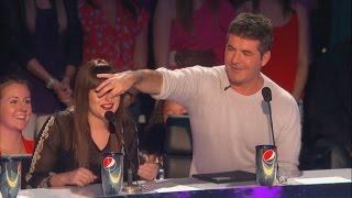 Demi Lovato and Simon Cowell - Funniest moments on The X factor - Season 2 (4/6) LEGENDADO