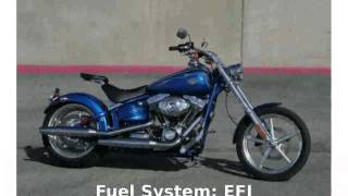 3. 2009 Harley-Davidson Softail Rocker C -  Transmission Info Top Speed Specification motorbike