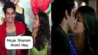 Video Jhanvi Kapoor Reveals Her And Ishaan Kissing Scenes  In Dhadak Movie MP3, 3GP, MP4, WEBM, AVI, FLV Juni 2018