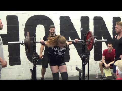 Serge Beaulieu  ( Powerlifting Championship Barbare Gym ) part-1
