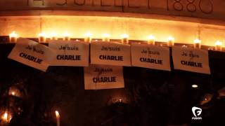 'Je Suis Charlie' Protest Follows Charlie Hebdo Attack In Paris