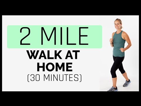 2 Mile Walk At Home Workout (30 Minutes)
