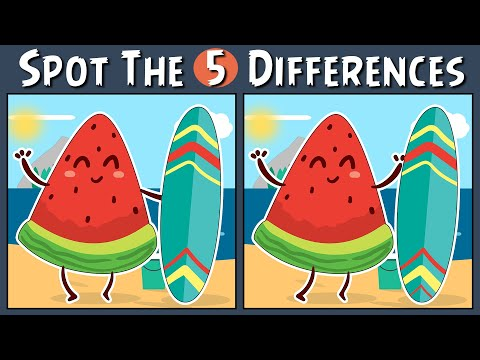 Spot the Difference Brain Games with Easy Spot the Difference Puzzles