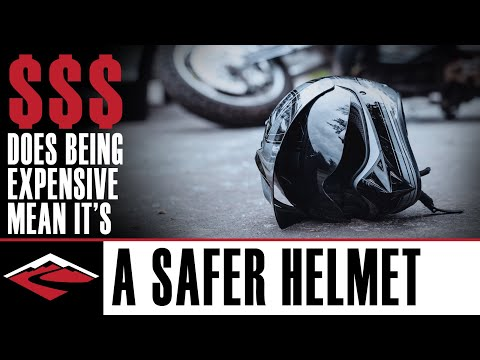 Is A More Expensive Motorcycle Helmet Safer? ⛑