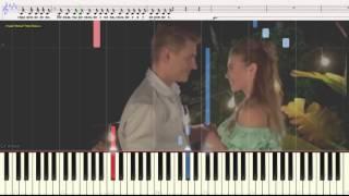 Будь, пожалуйста, послабее - Алексей Воробьёв (Ноты и Видеоурок для фортепиано) (piano cover)