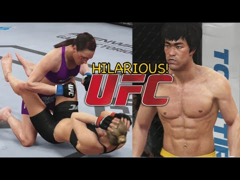 李小龍BRUCE LEE! [UFC GAMEPLAY]