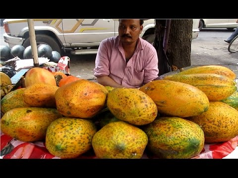 பழக்கலவை ம்ம்ம்ம் சூப்பர் !!! - Indian Street Food - Sliced Fruits Healthy Street Food Kolkata || Food at Street